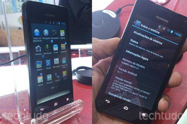Huawei Ascend Y300 Android jelly bean