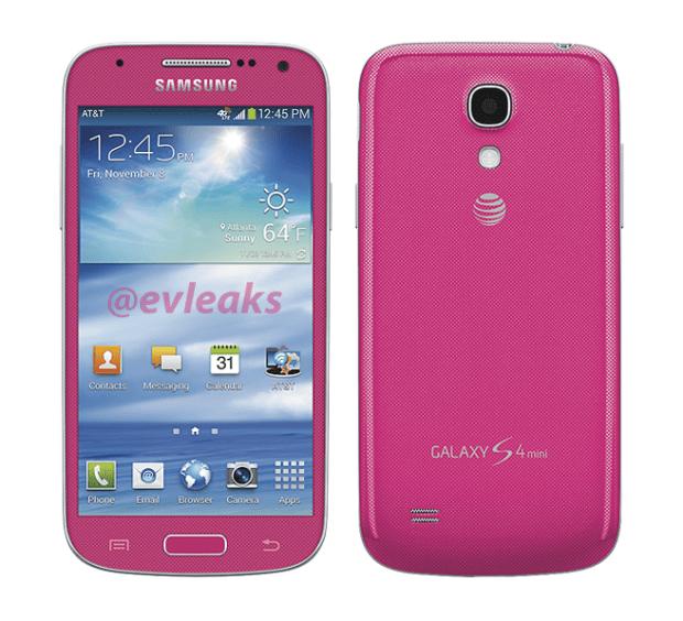 Galaxy S4 mini rosa