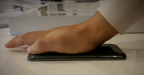 LG G Flex flexible