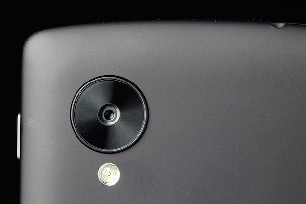 Google Nexus® cinco camara