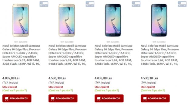 Galaxy S6 Edge plus precios especificaciones