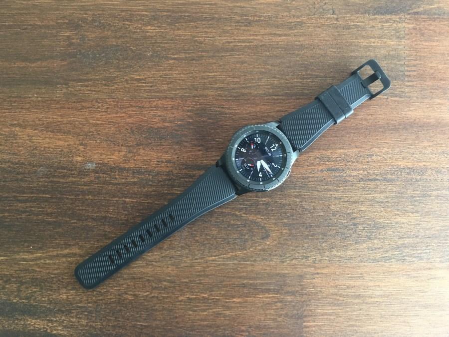 Samsung Gear S3 Frontier diseño