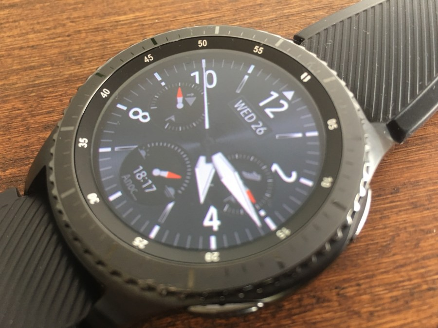 Samsung Gear S3 Frontier pantalla