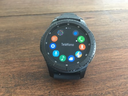 Samsung Gear S3 Frontier software