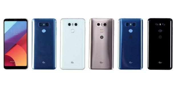 LG G6 Plus colores 5