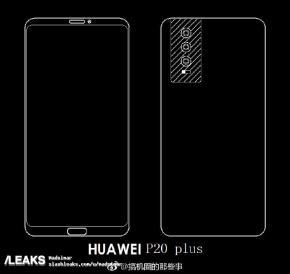 Huawei P20 Plus sketch