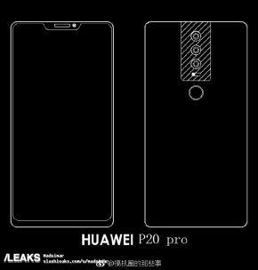 Huawei P20 Pro sketch