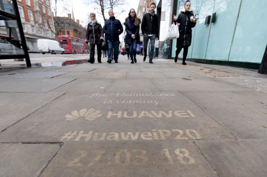 Huawei P20 publicidad 3
