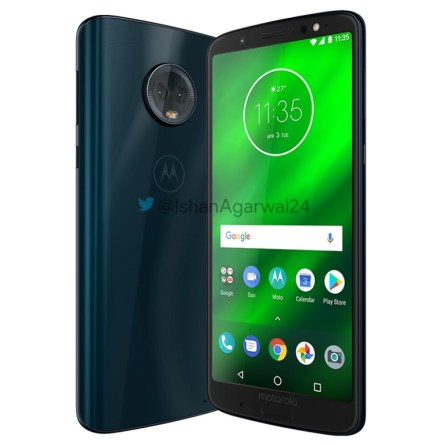 Motorola Moto G6 Plus indigo 4