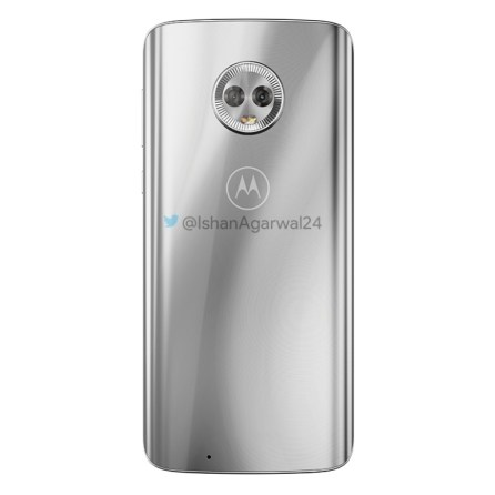 Motorola Moto G6 plateado 2