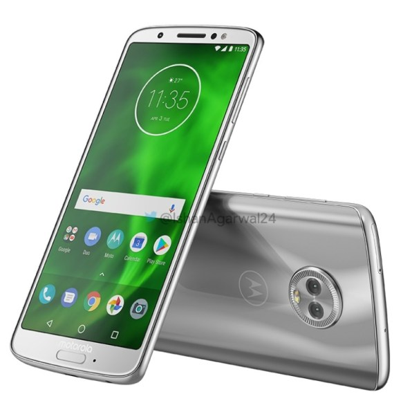 Motorola Moto G6 plateado 3