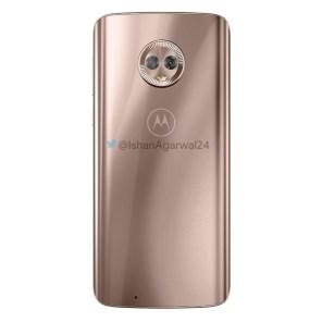 Motorola Moto G6 rosa dorado 2