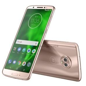 Motorola Moto G6 rosa dorado 3