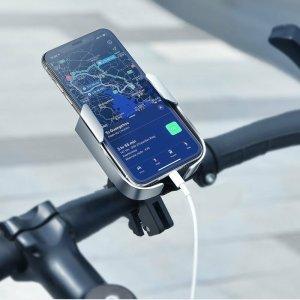 Suport Bicicleta Universal Baseus Pentru Telefon, Metal Armor, Cu Prindere Pe Ghidon Si Oglinda