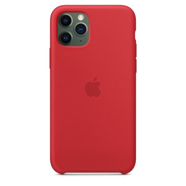 Husa de silicion originala Apple iPhone 11 Pro Product Red