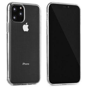 Husa SmartGSM® pentru iPhone 11, super slim, transparenta, foarte subtire