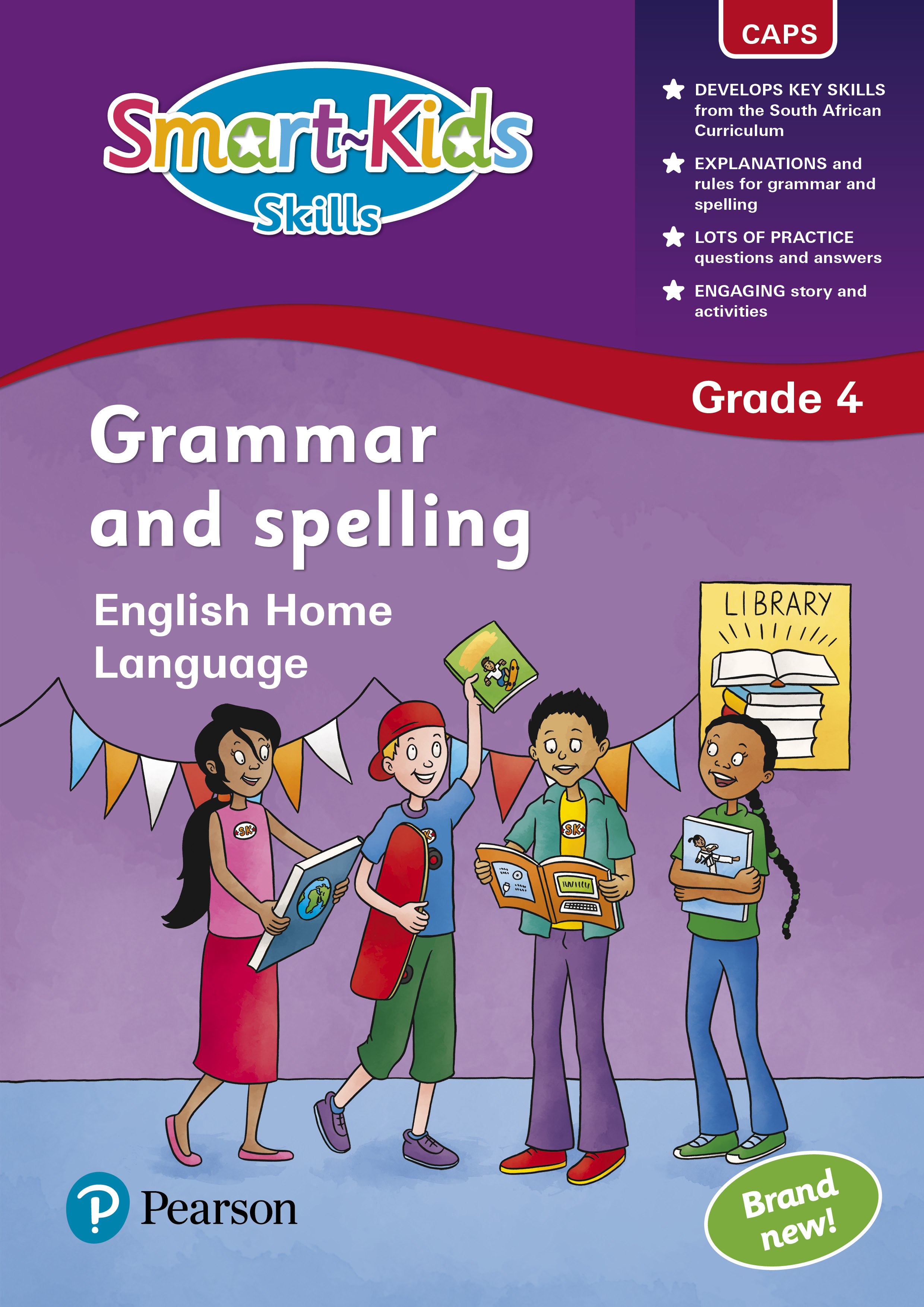 Smart Kids Skills Grammar And Spelling Grade 4