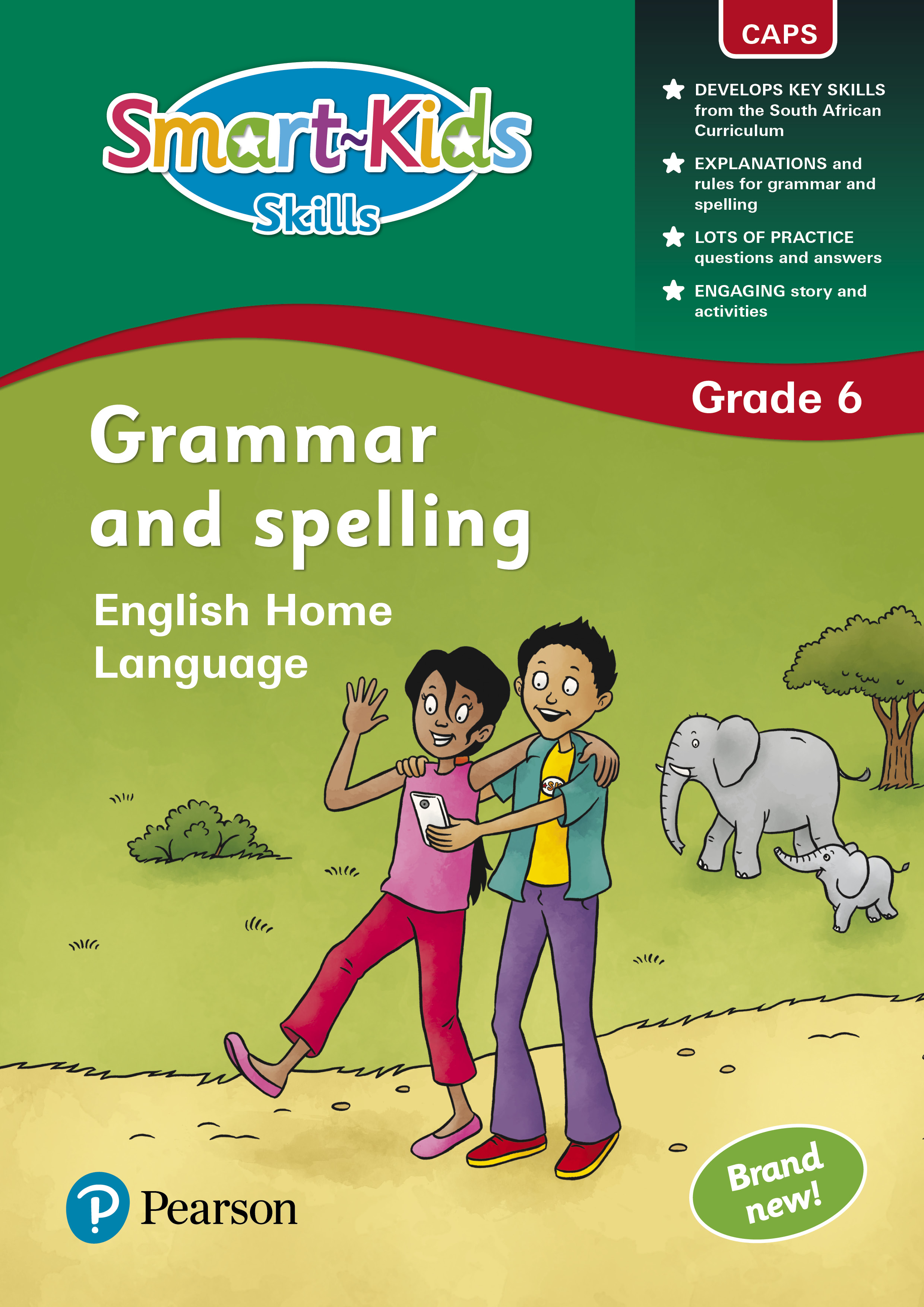 Smart Kids Skills Grammar And Spelling Grade 6