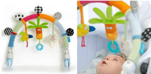 mobiles for visually impaired babies