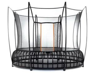 No pinch trampoline