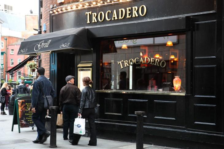 Trocadero in Dublin, Nicola Bramigk