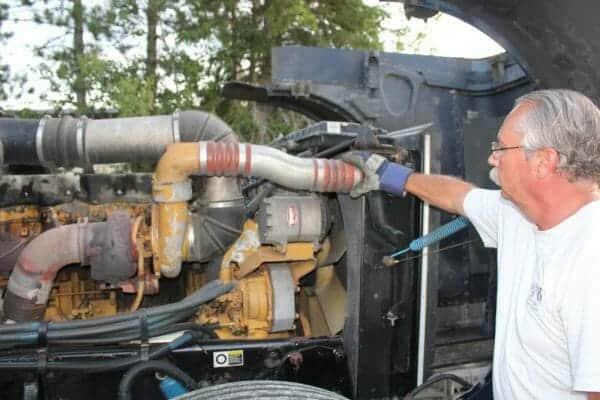 semi truck repair money saving fix
