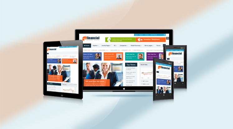 SJ Financial - Fully Responsive