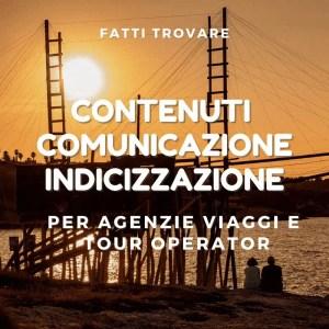 content creator per imprese turistiche, agenzie viaggi