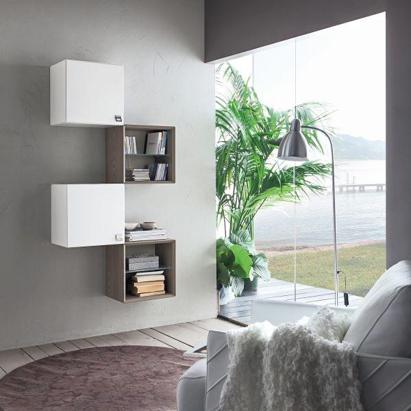 Una collezione di mobili per ingresso moderni ed eleganti per gli amanti di un design particolare: Jalmari Mobili Di Design Per Ingresso Pensili A Giorno O Con Ante E Mensole Ebay