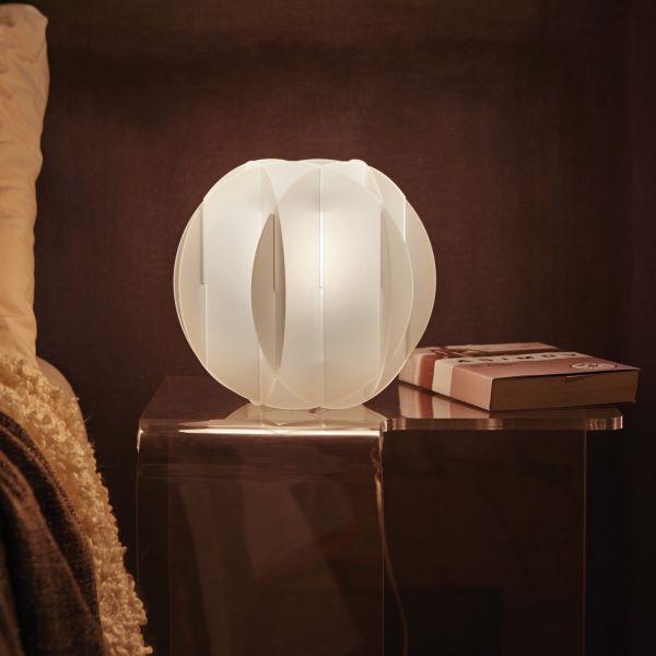 Lampada da tavolo mazzega nason osso design '70. Lampada Da Tavolo A Led Design Moderno Allegretta