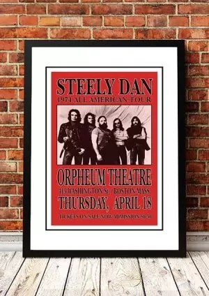 steely dan all american tour 1974