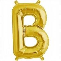 balon-folie-litera-b-auriu
