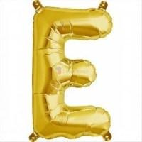 balon-folie-litera-e-auriu