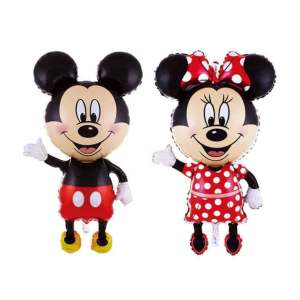 set baloane folie mickey si minnie mouse