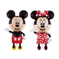 set baloane folie mickey si minnie mouse