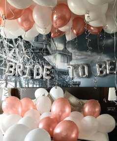baloane litere bride to be