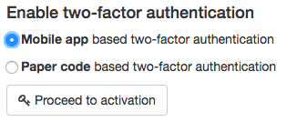 Two Factor Security Authentication