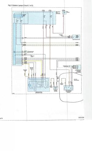 External lights wiring diagram  Smart Car Forums