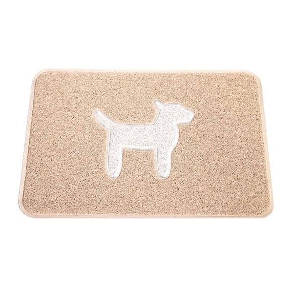 Smartcatcher-Mats-Modern-Dog-Collection-Waterproof Car-Seats-Cover-Cargo-Liner-Latte