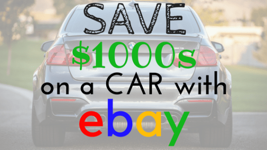 how to buy a car on ebay