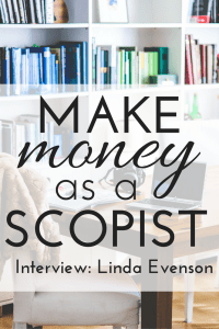 make money as a scopist