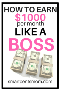 5 Ways to Make 500 to 1000 Dollars Extra per Month