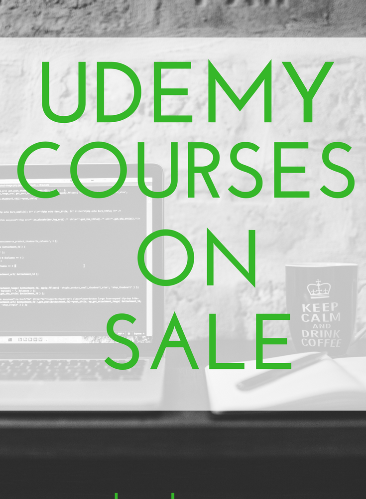 Udemy Courses on Sale! - Smart Cents Mom