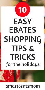 ebates shopping tips and tricks