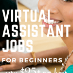 Looking for work at home opportunities? Love Pinterest? Become a Pinterest virtual assistant and work from home! No experience required, this is a perfect work at home opportunities for beginners. You can easily train online and start making $25 - $50 per hour. #makemoneyonline #workfromhome #virtualassistant #earnmoney #sidehustle