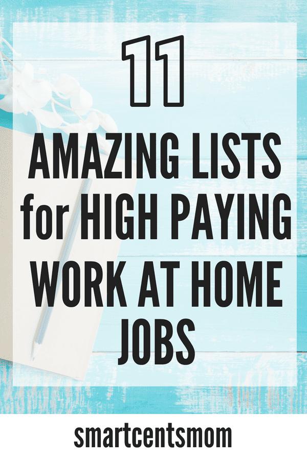 top 11 lists of online jobs no money to start