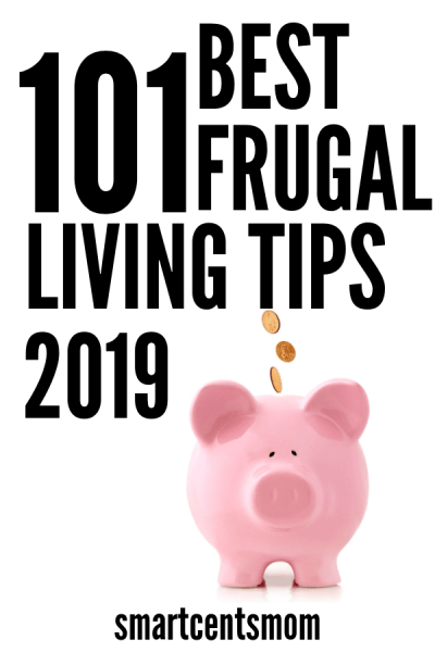 Best frugal living tips to help you start saving money today! I've shared my complete list of over 100 creative ways to save and start living frugally!