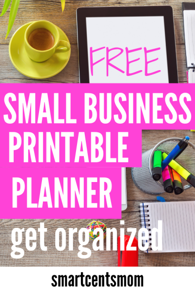 free printable small business planner