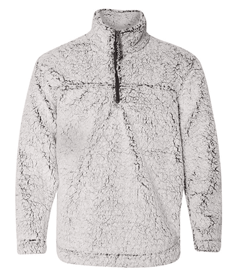 fall sherpa pullover