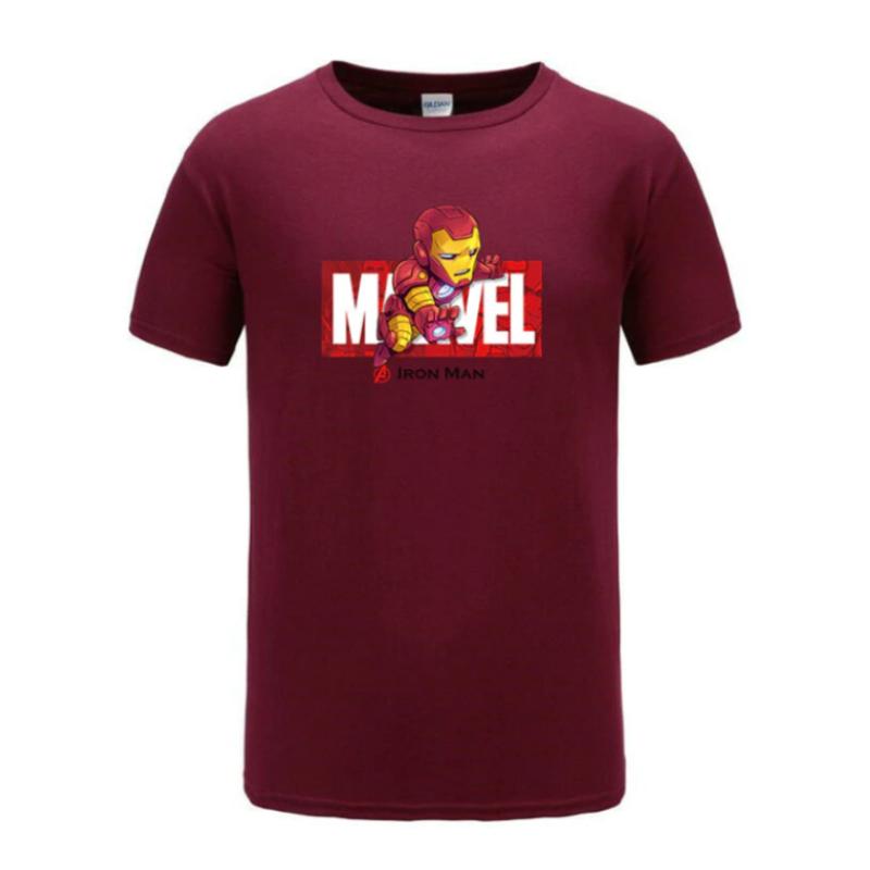 cotton t shirt ironman